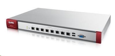 Zyxel ZyWALL USG310 UTM BUNDLE Security Firewall, 8x gigabit RJ45 (LAN/DMZ/WAN), 2x USB