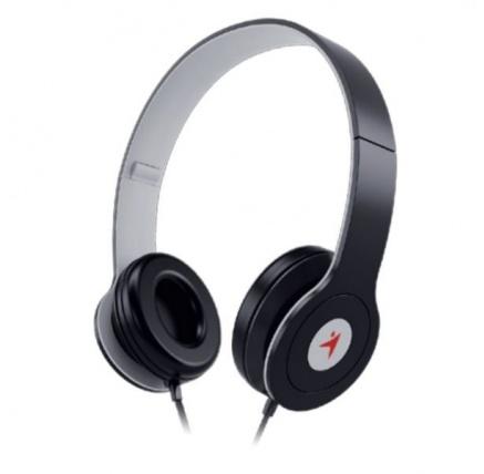 GENIUS sluchátka s mikrofonem HS-M450, černá