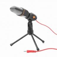 GEMBIRD mikrofon na stůl MIC-D-03, HQ, černý