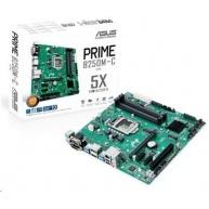 ASUS MB Sc LGA1151 PRIME B250M-C/CSM (SW + PUR RMA), Intel B250, M.2, SATA