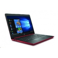 "NTB HP Laptop 14-dg0003nc; 14"" SVA AG HD; Celeron® N4000, 4GB DDR4; 64GB eMMC; UMA; USB 3.1; Win10 S - red"