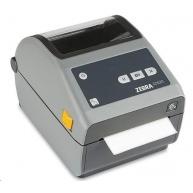 Zebra ZD620d, 8 dots/mm (203 dpi), odlepovač, RTC, EPLII, ZPLII, USB, RS232, Ethernet