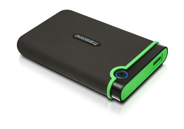 "TRANSCEND externí HDD 2,5"" USB 3.1 Type-C StoreJet 25MC, 1TB, Black (SATA, Rubber Case, Anti-Shock)"