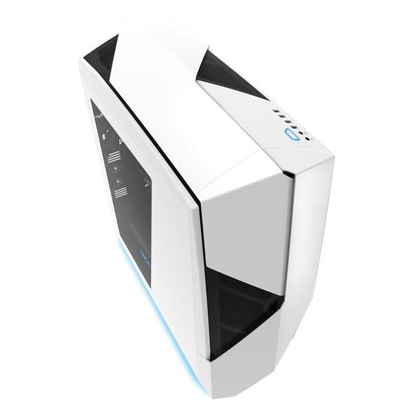 NZXT skříň Noctis 450/MidTower/bez zdroje/USB3.0/2.0/ /ATX/bílomodrá