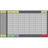 Conto - modul rezervace stolů a pokojů