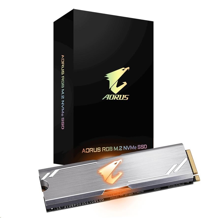 GIGABYTE AORUS RGB M.2 NVMe SSD 256GB