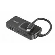 TRUST OILA 2+2 Port USB-C & USB 3.1 Hub 2+2 Port USB-C & USB 3.1 Hub