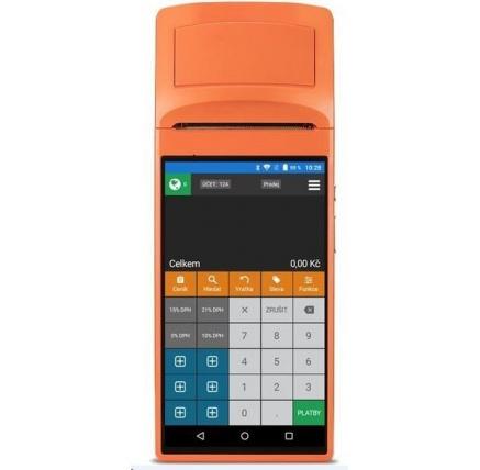 SUNMI Rakeeta V1s - mobilní EET terminál s tiskárnou