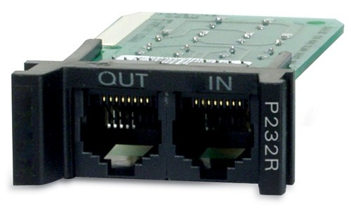 APC Surge Protection Module for RS232, Replaceable, 1U, for use with PRM4 or PRM24 Rackmount Chassis