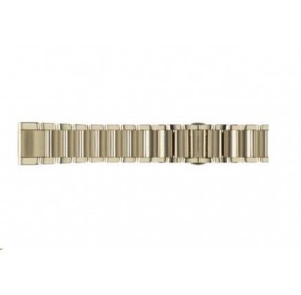 Garmin řemínek pro fenix5S - QuickFit 20, kovový, Champagne