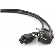 GEMBIRD Kabel napájecí 230V pro NTB 1,8m (3pin, Schuko, trojlístek)