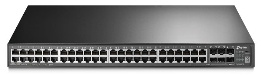 TP-Link T3700G-52TQ, JetStream™ 52-port Pure-Gigabit L3 Managed Switch