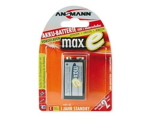 Baterie - Ansmann maxE 9V-E block NiMH 9V 200mAh
