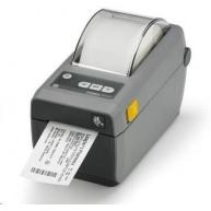 Zebra ZD410, 8 dots/mm (203 dpi), MS, RTC, EPLII, ZPLII, USB, BT (BLE), dark grey