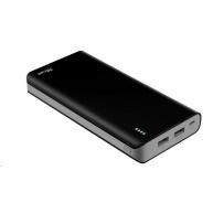 TRUST Primo PowerBank 20000mAh Portable Charger, black
