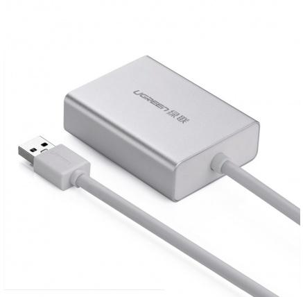 UGREEN USB 3.0 to DVI Multi-Display Adapter, Alu, 80 cm
