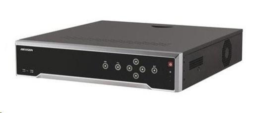 HIKVISION NVR, 16 kanálů, 4x HDD (až 8TB), 4K UHD, 16xPoE (200W) 2x USB, 1xHDMI a 1xVGA výstup, 16xDI,4xDO, audio in/out