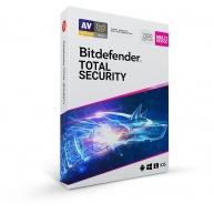 Bitdefender Total Security - 10 zařízení na 1 rok- elektronická licence do emailu