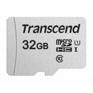 TRANSCEND MicroSDHC karta 32GB 300S, UHS-I U1 + adaptér