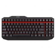 ZALMAN ZM-K500 - Kkávesnice herní 5 hot keys, mechanická, black, USB, ENG