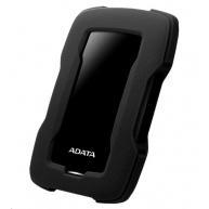 """ADATA Externí HDD 1TB 2,5"""" USB 3.1 HD330, BLACK COLOR BOX, černý (gumový, nárazu odolný)"""