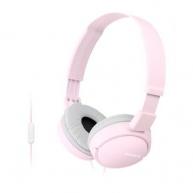SONY stereo sluchátka MDR-ZX110AP, růžová