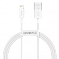 Baseus Superior Series rychlonabíjecí kabel USB/Lightning 2.4A 1m bílá