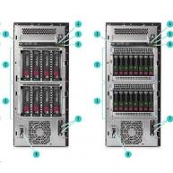 HPE PL ML110g10 3206R (1.9G/8C/8M/2133) 1x16G S100i 4LFF-HP 550W1/2 noDVD T4.5U NBD333