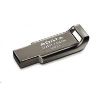 ADATA Flash Disk 32GB UV131, USB 3.1 Dash Drive, Chromium, kov, šedá