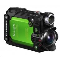 OLYMPUS Tough TG-Tracker - akční kamera - zelená