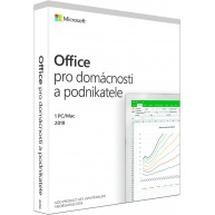 Microsoft Office Home and Business 2019 CZ (pro podnikatele)