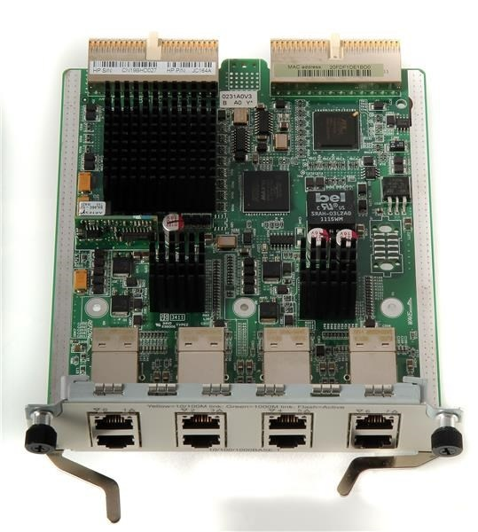 HPE 6600 4-port GbE SFP HIM Router Mod