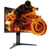 "AOC MT VA LCD  WLED 27"" C27G1 - VA panel,1920x1080, 144Hz, 1ms, D-Sub, 2xHDMI, DP, nast. vyska, gaming, zakriveny panel"