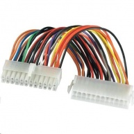 PREMIUMCORD Kabel napájecí interní 24pin, prodloužení 25cm ke zdrojům ATX