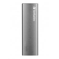 VERBATIM Vx500 EXTERNAL SSD Drive 480GB silver USB-C