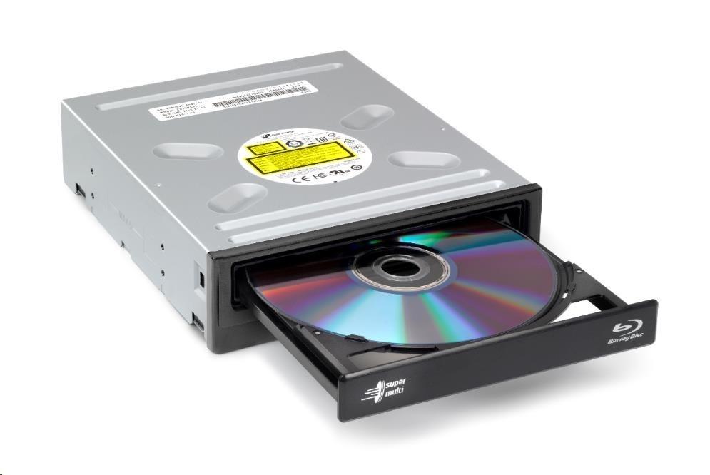 HITACHI LG - interní mechanika BD-Combo/CD-RW/DVD±R/±RW/RAM/M-DISC CH12NS40, Black, box+SW