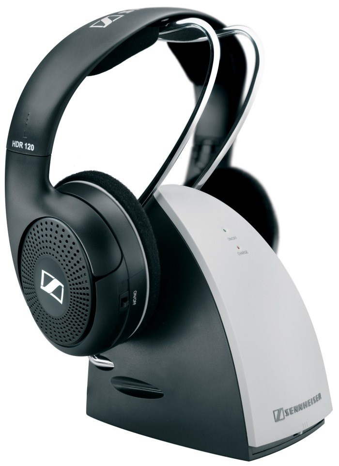 SENNHEISER RS 120 II black (černá) bezdrátová sluchátka typ mušle