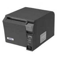 EPSON TM-T70II pokladní tiskárna, USB + serial, černá, řezačka, se zdrojem