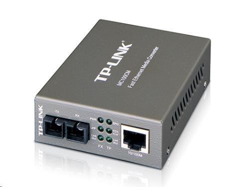 TP-Link MC100CM - Fiber media konvertor 10/100 - RJ45/SFP (mini-gbic), SC, MM, 2km