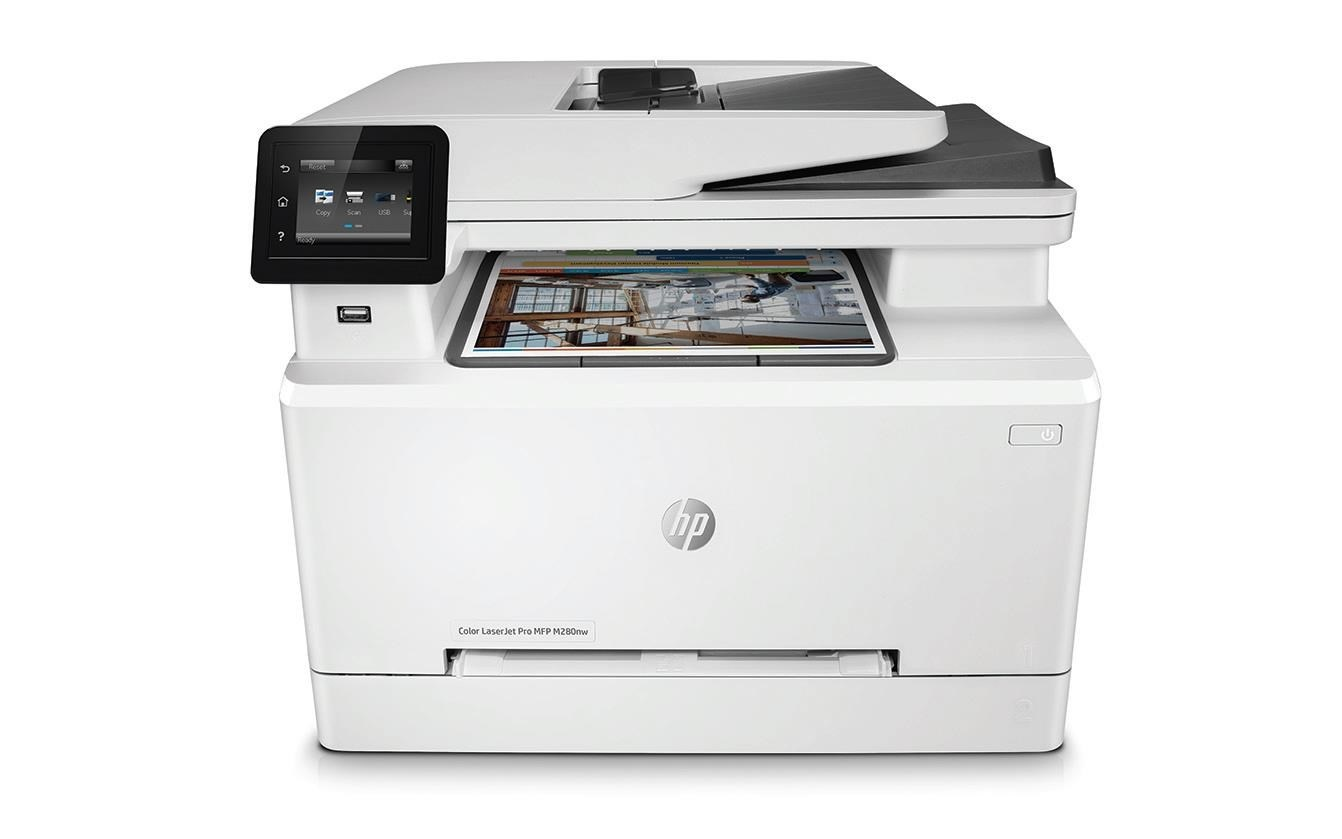 HP Color LaserJet Pro MFP M280nw (A4, 21/21 ppm, USB 2.0, Ethernet, Wi-Fi, Print/Scan/Copy/)