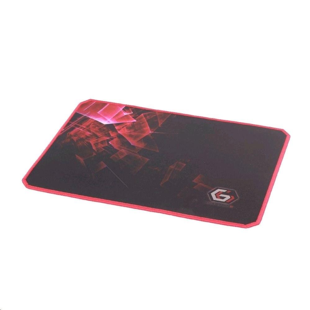 C-TECH herní podložka pod myš látková černá, MP-GAMEPRO-M, 250x350 mm