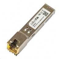 MikroTik SFP konvertor na metaliku 10/100/1000M, RJ-45, až 100m