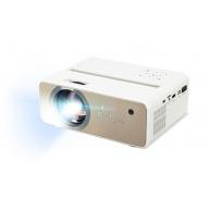 Rozbaleno - AOPEN Projektor QF12, přenosný LED, 1080p, 100 ANSI, 1000:1, HDMI, USB, repro 1x5W, 1.3 Kg, WiFi, remote con