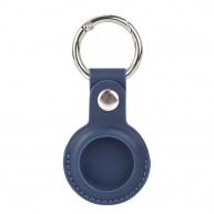 RhinoTech pouzdro PU na klíče pro Apple AirTag tmavě modrá
