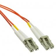 Duplexní patch kabel MM 62,5/125 OM1, LC-LC, LS0H, 10m