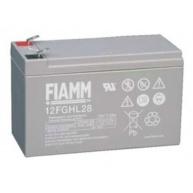 Baterie - Fiamm 12 FGHL 28 (12V/7,2Ah - Faston 250), životnost 10let