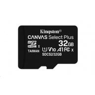 Kingston 32GB micSDHC Canvas Select Plus 100R A1 C10 - 1 ks
