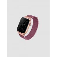 Uniq ocelový řemínek Dante pro Apple Watch série 4 (40 mm), růžovo-zlatá