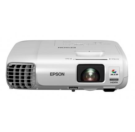 EPSON projektor EB-980W, 1280x800, WXGA, 3800ANSI, USB, HDMI, VGA, LAN,12000h ECO životnost lampy, 3 ROKY ZÁRUKA