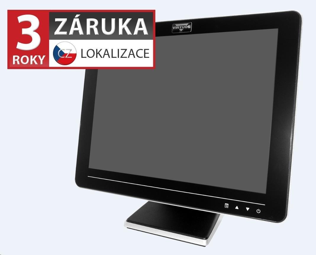Virtuos 15'' LCD AerMonitor AM-1015, dotykový, rezistivní, USB